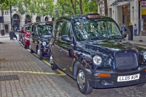 Traditional London Black Taxi